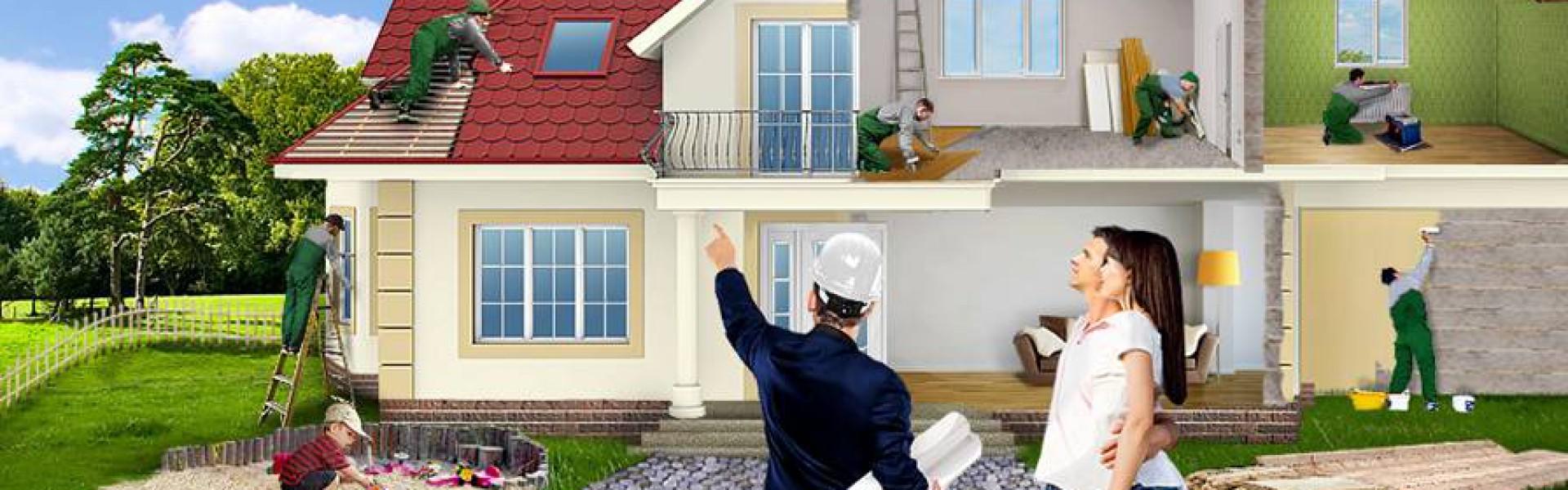 Фото работ по строительству дома 5
