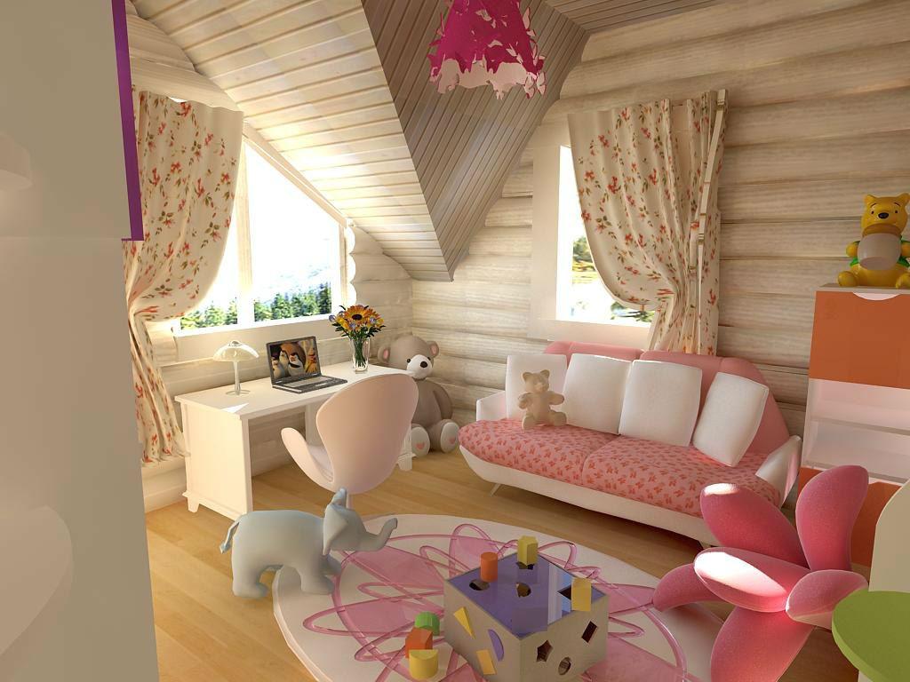 Дизайн детской фото в доме