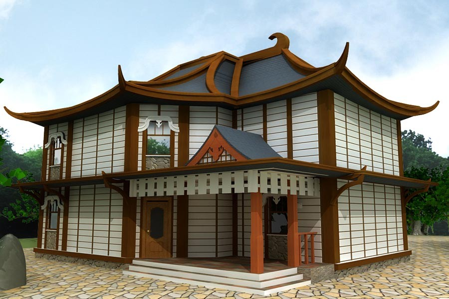 школе фото отделки домов в корейском стиле дополнением рисунку