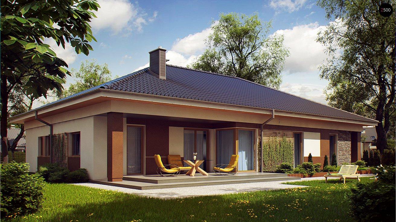 Дачный дом с мансардой проект - Балчуг 8